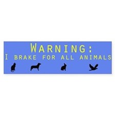 Environment Bumper Bumper Sticker