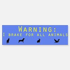 Environment Bumper Car Car Sticker