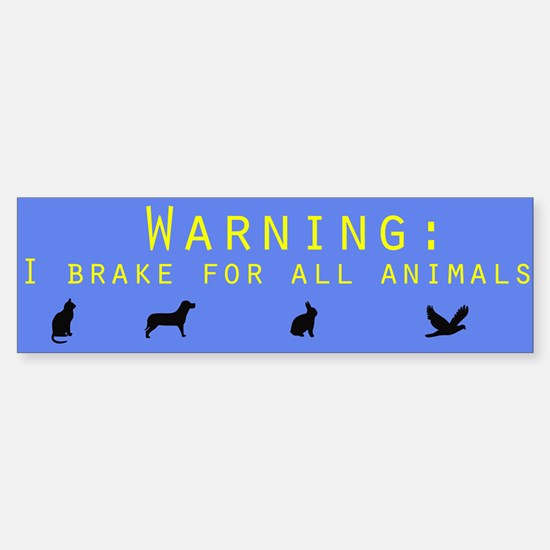 Environment Bumper Car Car Sticker