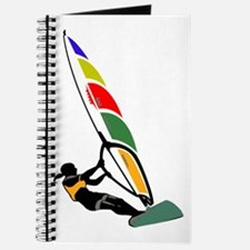 Windsurfer Colorful Journal