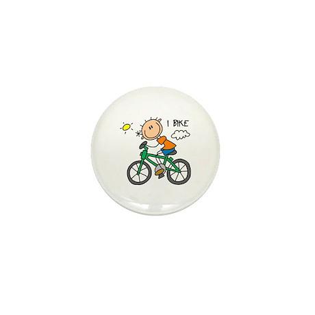 I Bike Mini Button (10 pack)