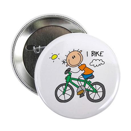 "I Bike 2.25"" Button"