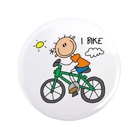 "I Bike 3.5"" Button"