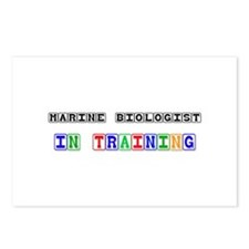 Marine Biologist In Training Postcards (Package of