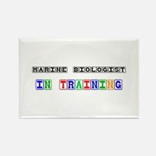 Marine Biologist In Training Rectangle Magnet