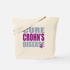 Cure Crohn's Disease Tote Bag