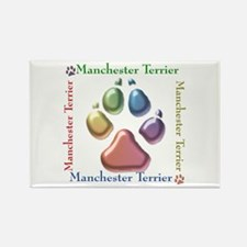 Manchester Name2 Rectangle Magnet