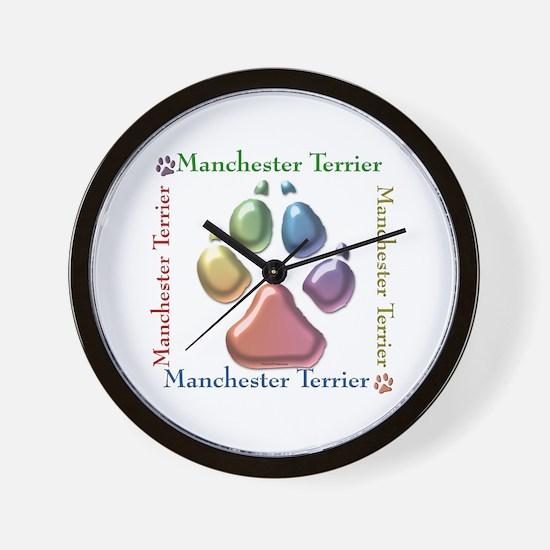 Manchester Name2 Wall Clock