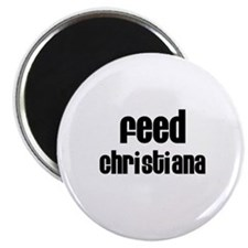 Feed Christiana Magnet