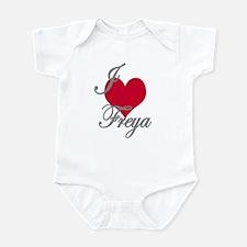 I love (heart) Freya Infant Bodysuit