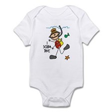I Scuba Dive Infant Bodysuit