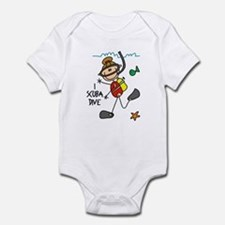I Scuba Dive Infant Bodysuit