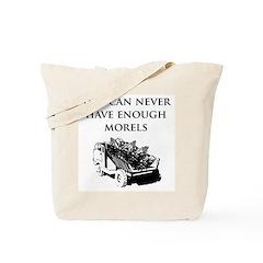 Morel Truck Tote Bag