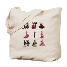Flamenco Spanish Dancing Tote Bag