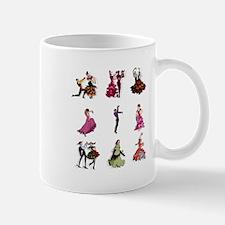 Flamenco Spanish Dancing Mug