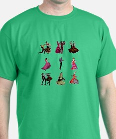 Flamenco Spanish Dancing T-Shirt