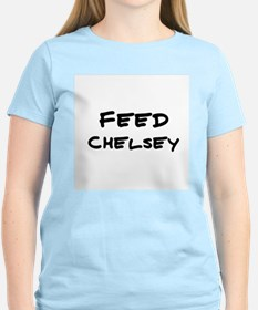 Feed Chelsey Women's Pink T-Shirt