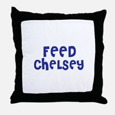 Feed Chelsey Throw Pillow