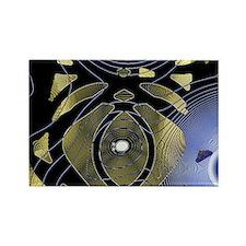 Spotlight 7 Rectangle Magnet
