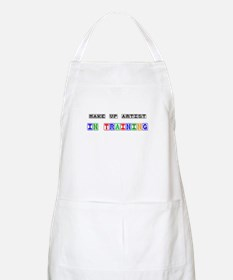 Make Up Artist In Training BBQ Apron