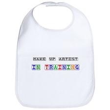 Make Up Artist In Training Bib