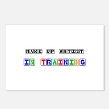 Make Up Artist In Training Postcards (Package of 8