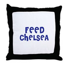 Feed Chelsea Throw Pillow