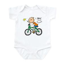 I Bike Infant Bodysuit