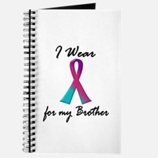 I Wear A Thyroid Ribbon 1 (Brother) Journal