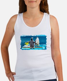 STAR Penguins S. America Logo- Women's Tank Top