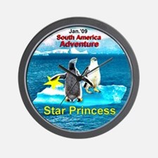 STAR Penguins S. America Logo- Wall Clock