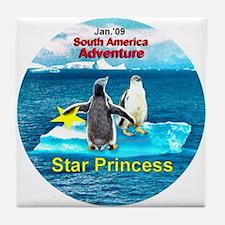 STAR Penguins S. America Logo- Tile Coaster