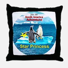 STAR Penguins S. America Logo- Throw Pillow