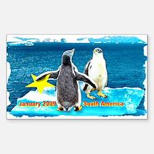 STAR Penguins S. America Logo- Rectangle Decal