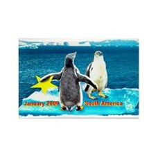 STAR Penguins S. America Logo- Rectangle Magnet