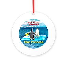 STAR Penguins S. America Logo- Ornament (Round)
