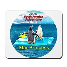 STAR Penguins S. America Logo- Mousepad