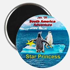 STAR Penguins S. America Logo- Magnet