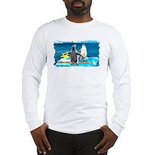 STAR Penguins S. America Logo- Long Sleeve T-Shirt
