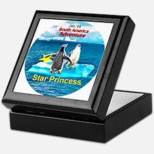 STAR Penguins S. America Logo- Keepsake Box