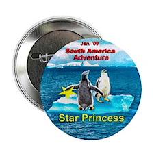 "STAR Penguins S. America Logo- 2.25"" Button (10 pa"