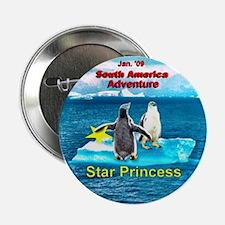 "STAR Penguins S. America Logo- 2.25"" Button"