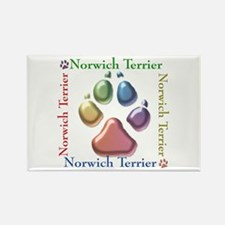 Norwich Name2 Rectangle Magnet