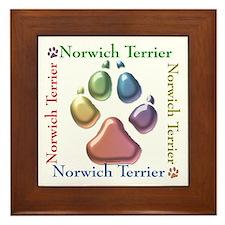 Norwich Name2 Framed Tile
