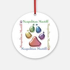 Neo Name2 Ornament (Round)