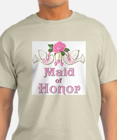 Dove & Rose - Maid of Honor T-Shirt