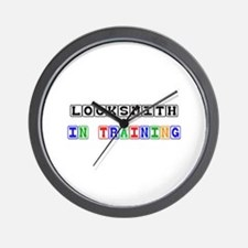 Locksmith In Training Wall Clock
