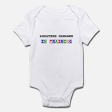 Location Manager In Training Infant Bodysuit