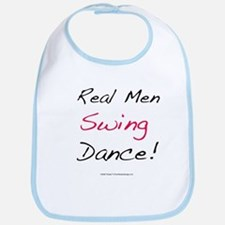 Real Men Swing Dance Bib