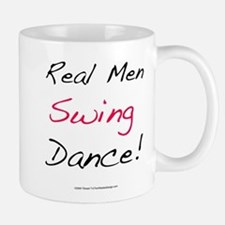 Real Men Swing Dance Small Small Mug